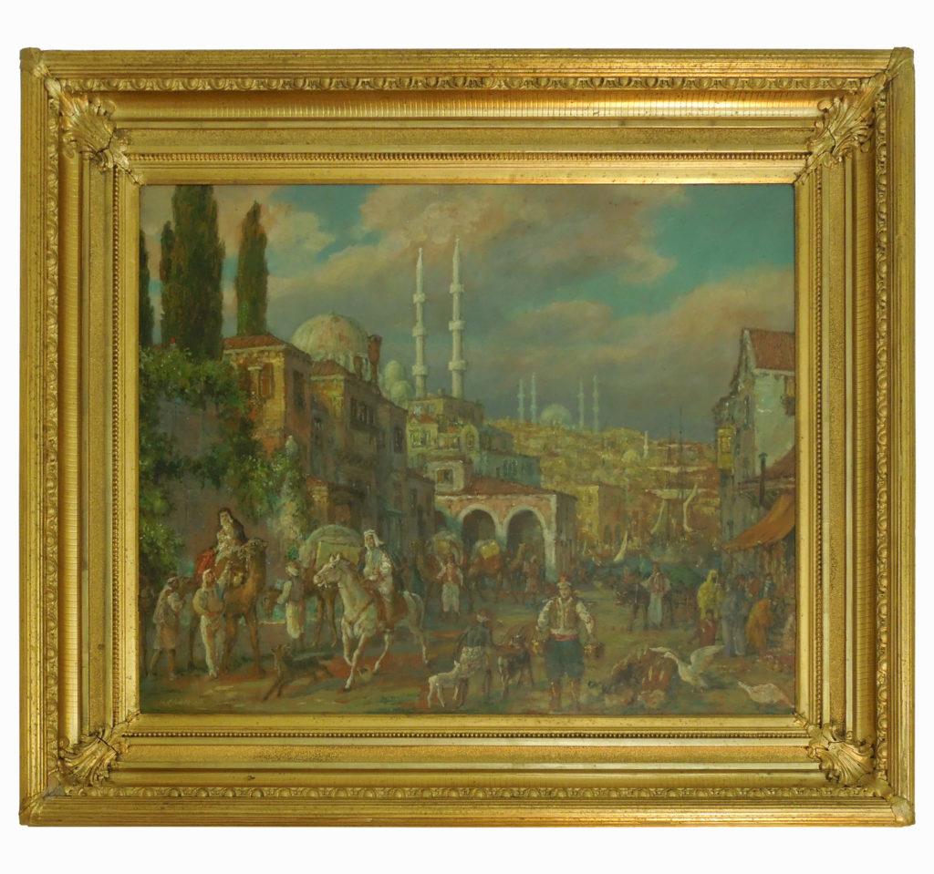 Karl Kaufmann (1843 – 1905) Starý Istanbul