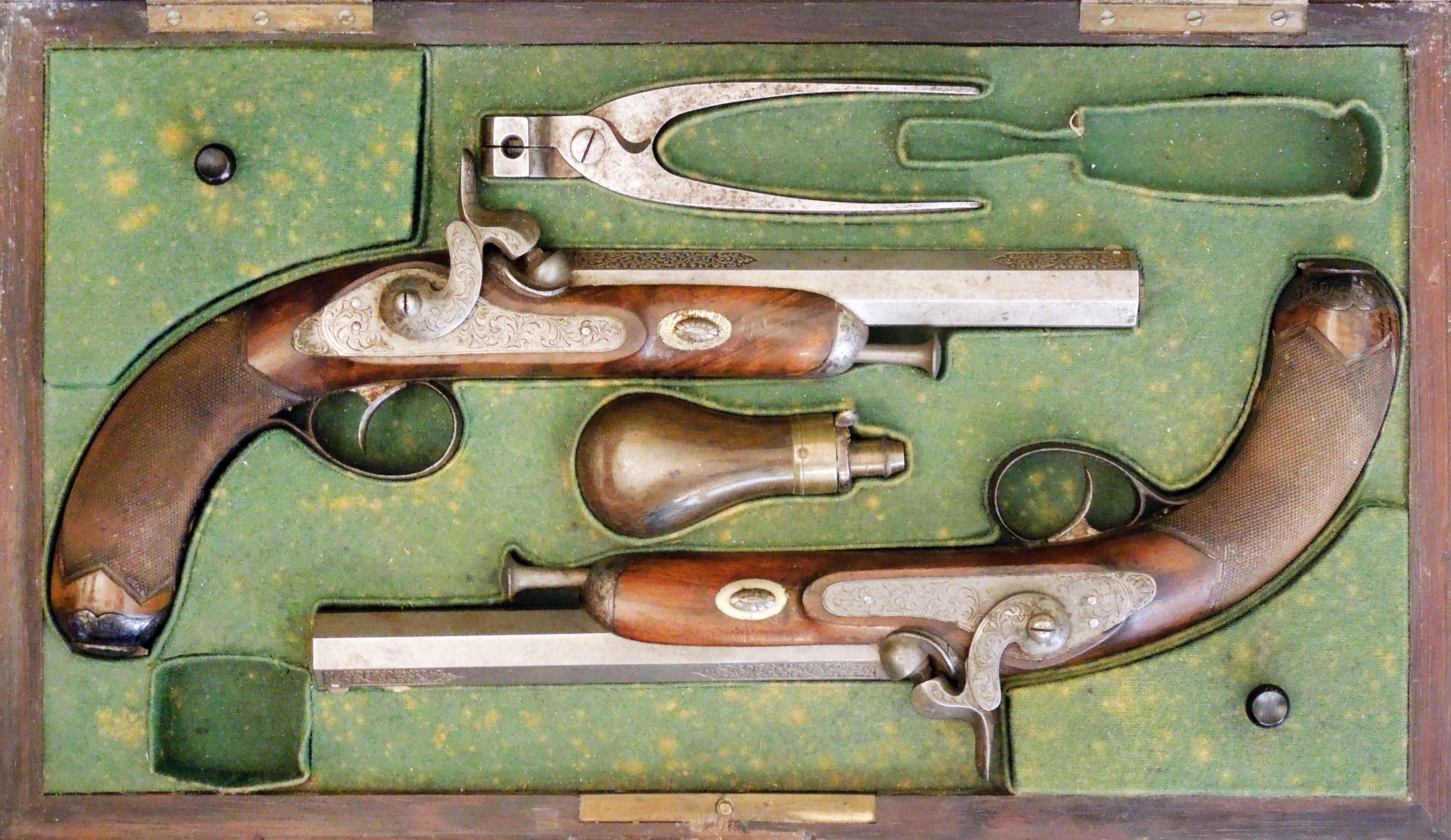 Francouzské duelové pistole LEPAGE FRÉRES, PARIS