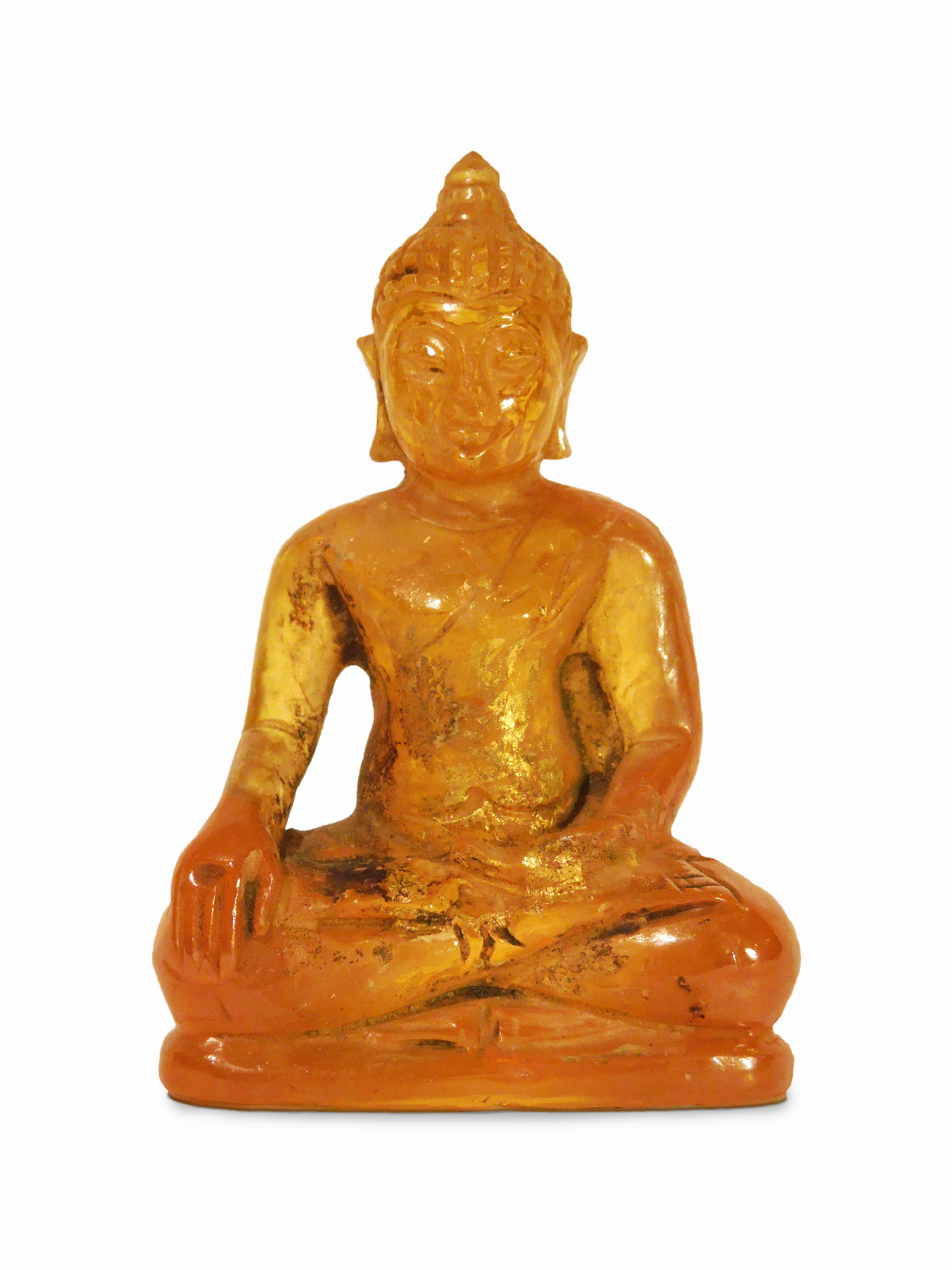 Budha, citrín