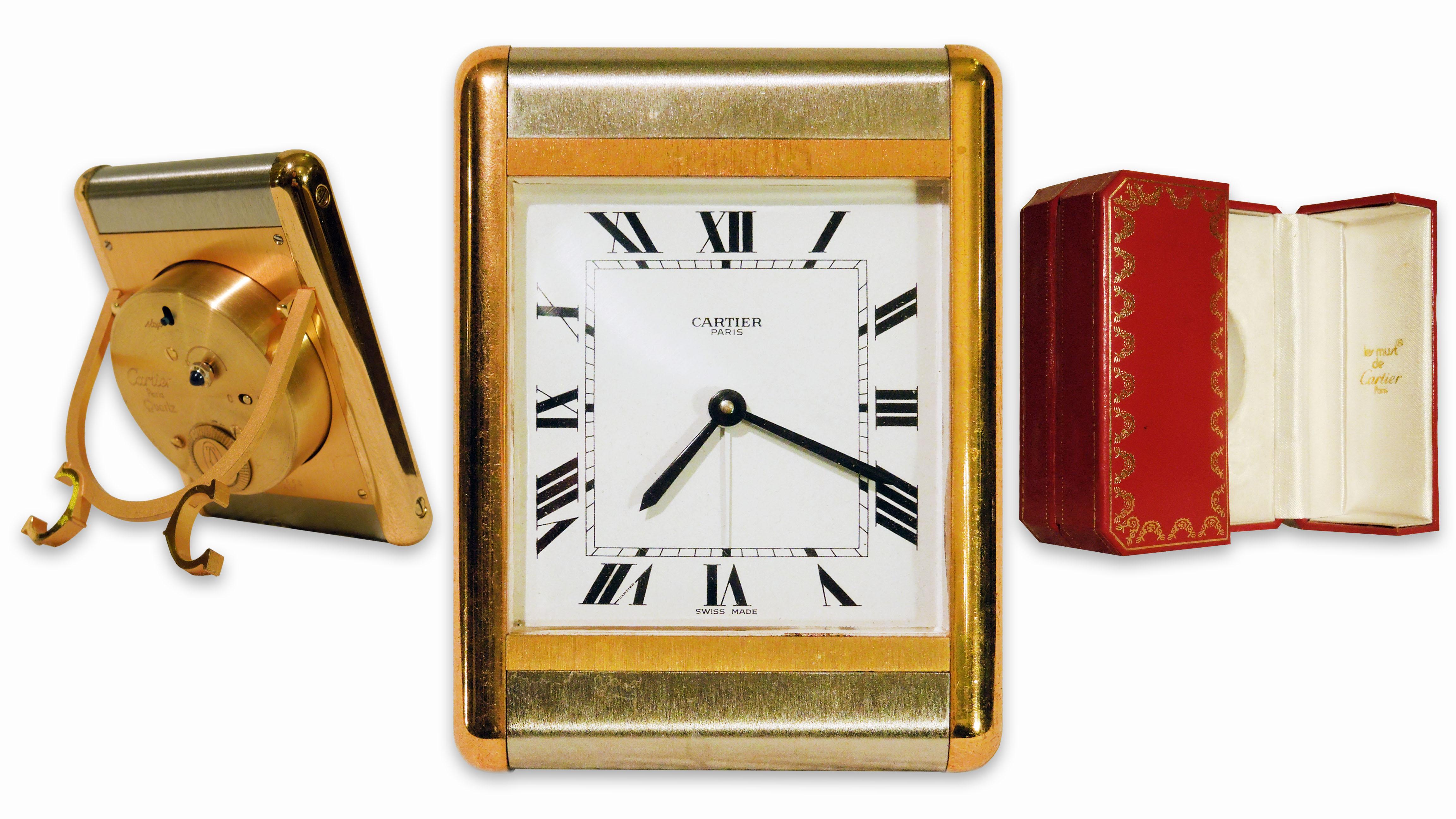 Stolní hodiny Cartier