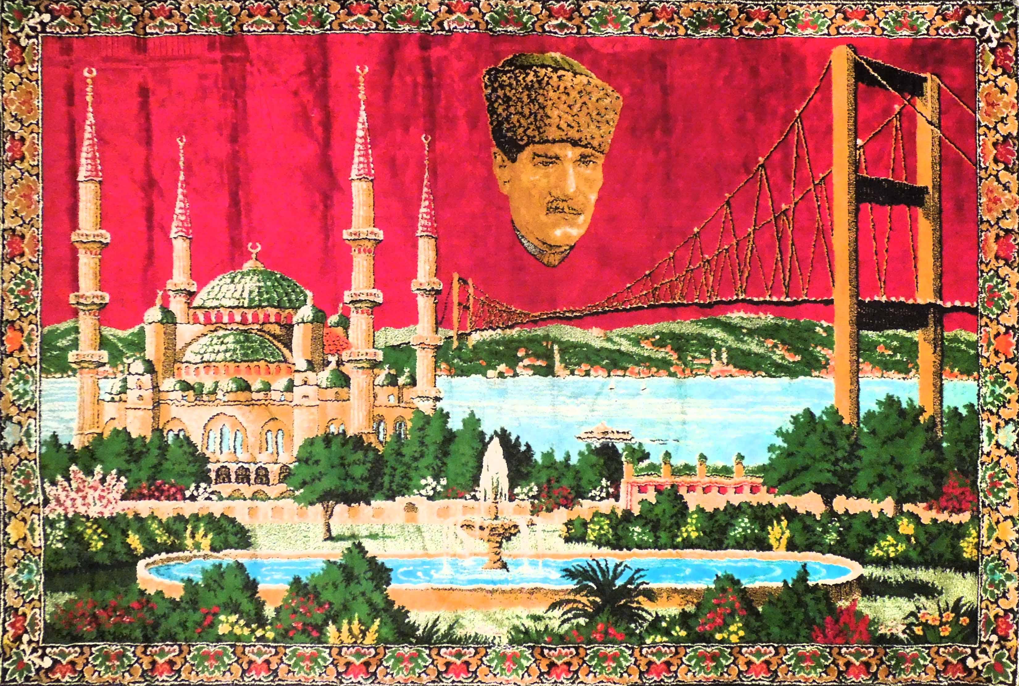 Koberec Mustafa Kemal Atatürk