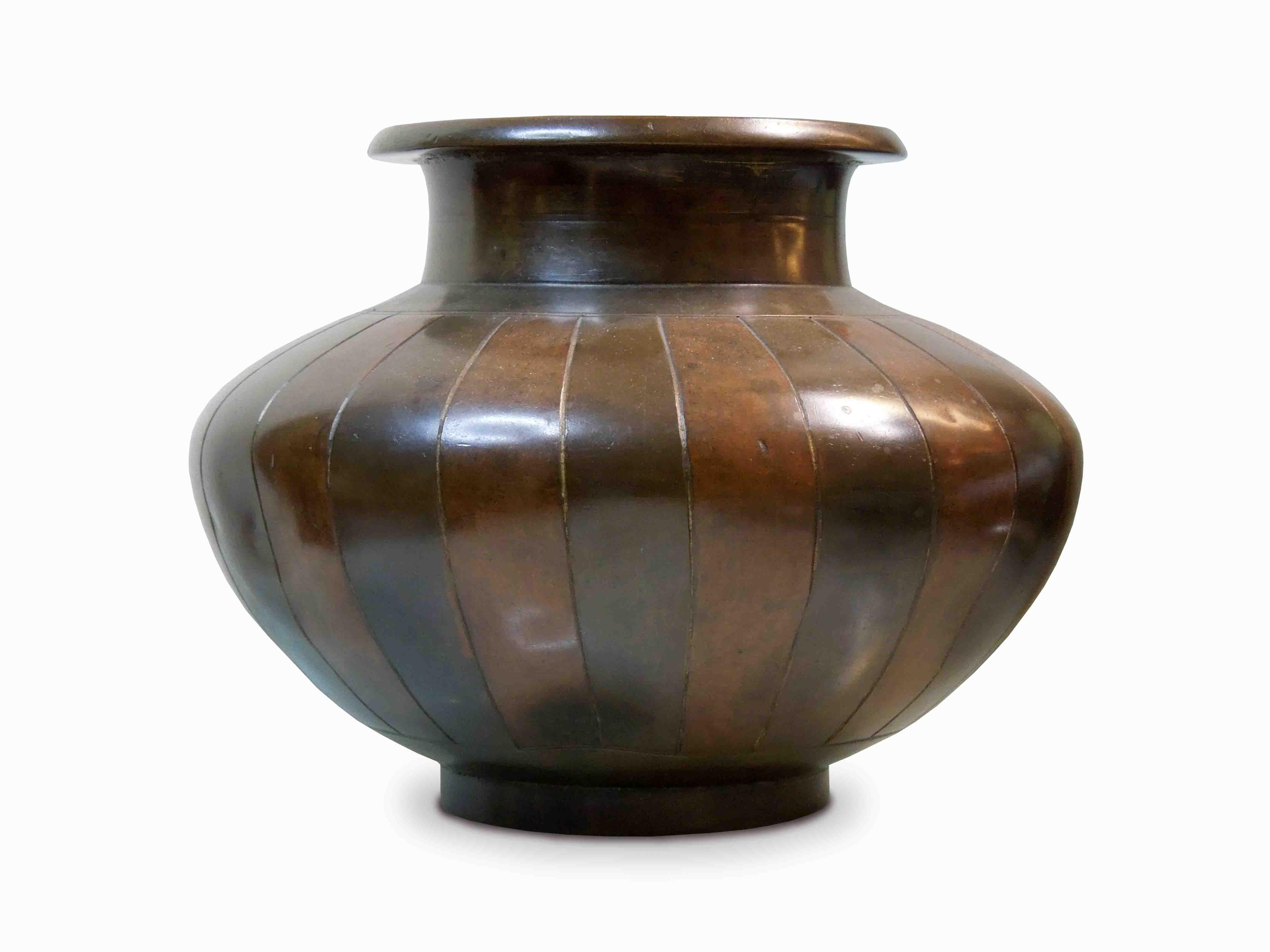 Tibetská bronzová váza