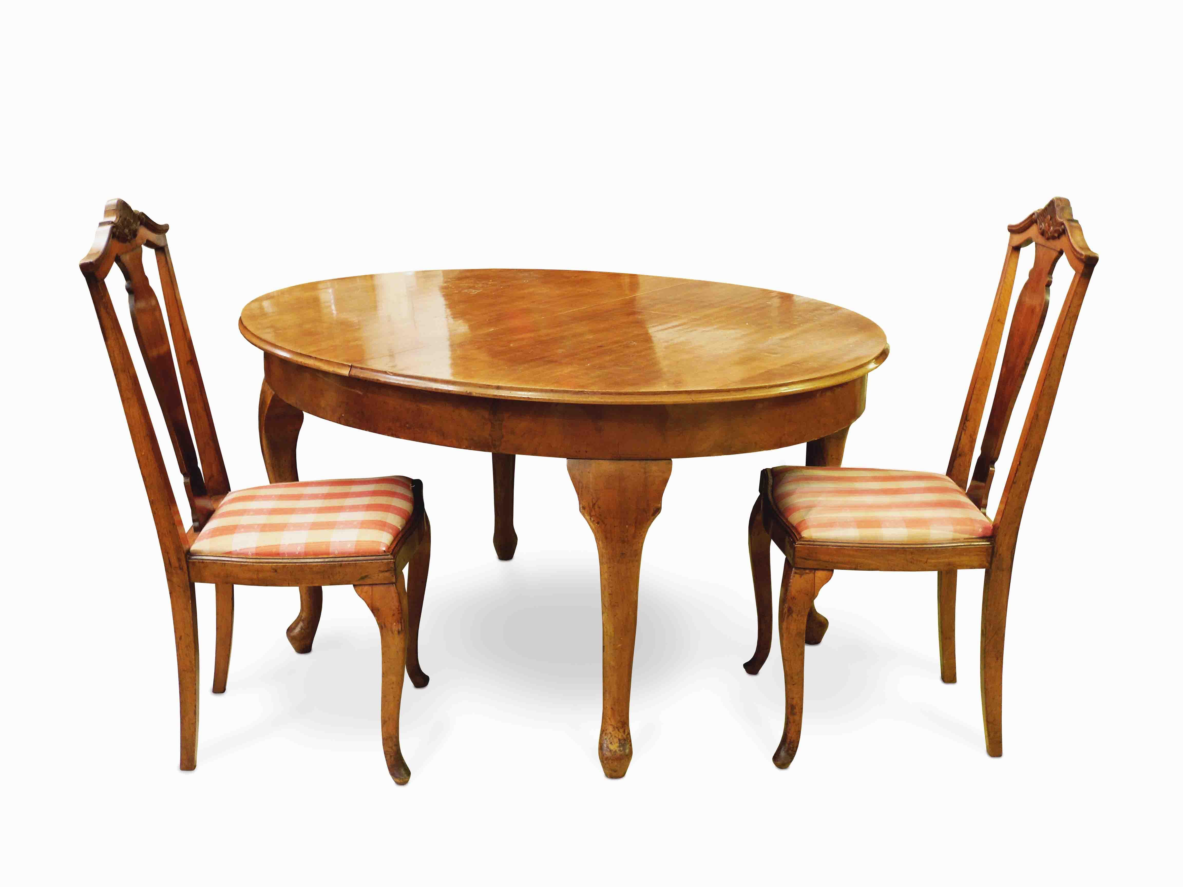 Jídelní stůl, 6 židlí