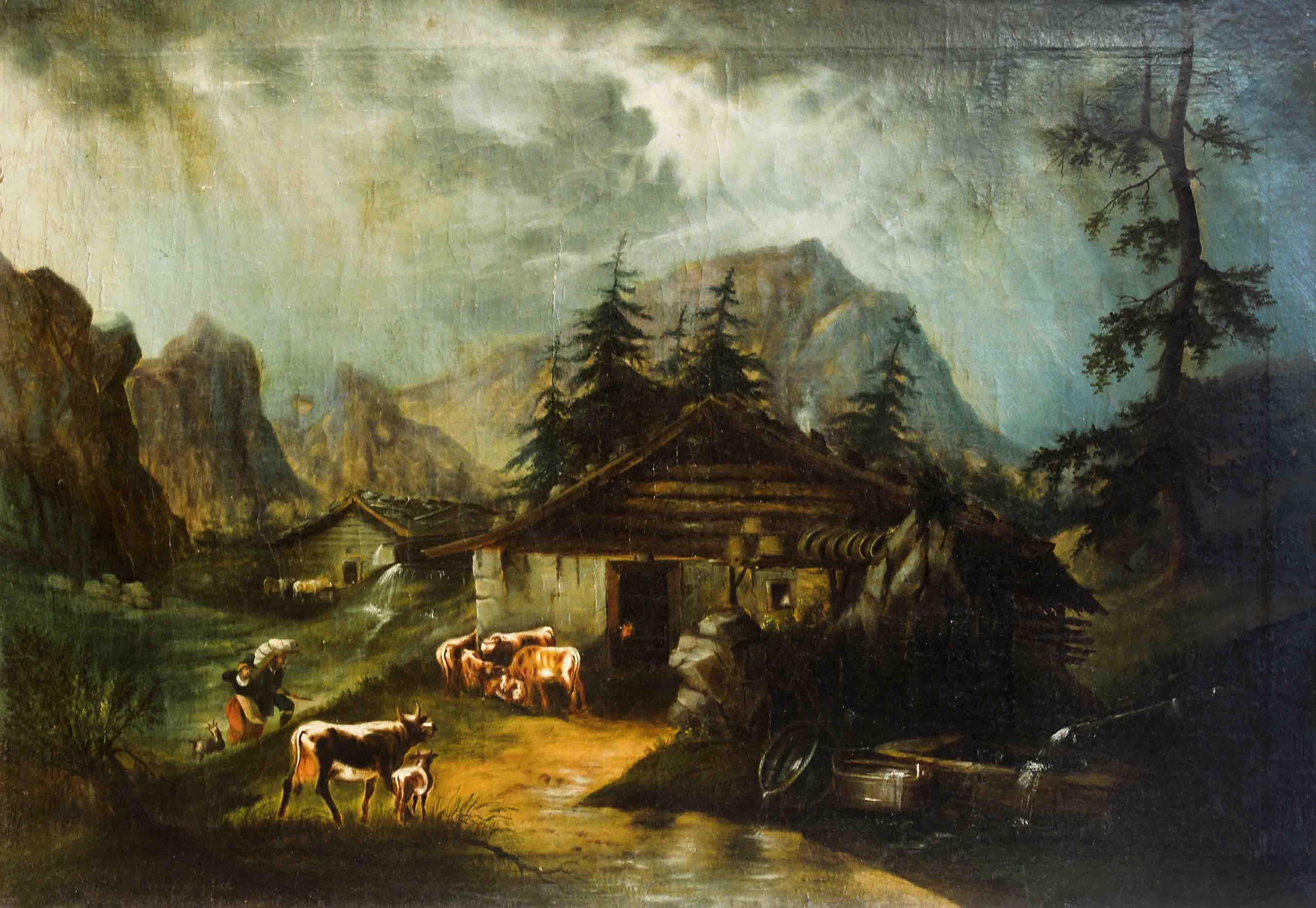 Statek v horách