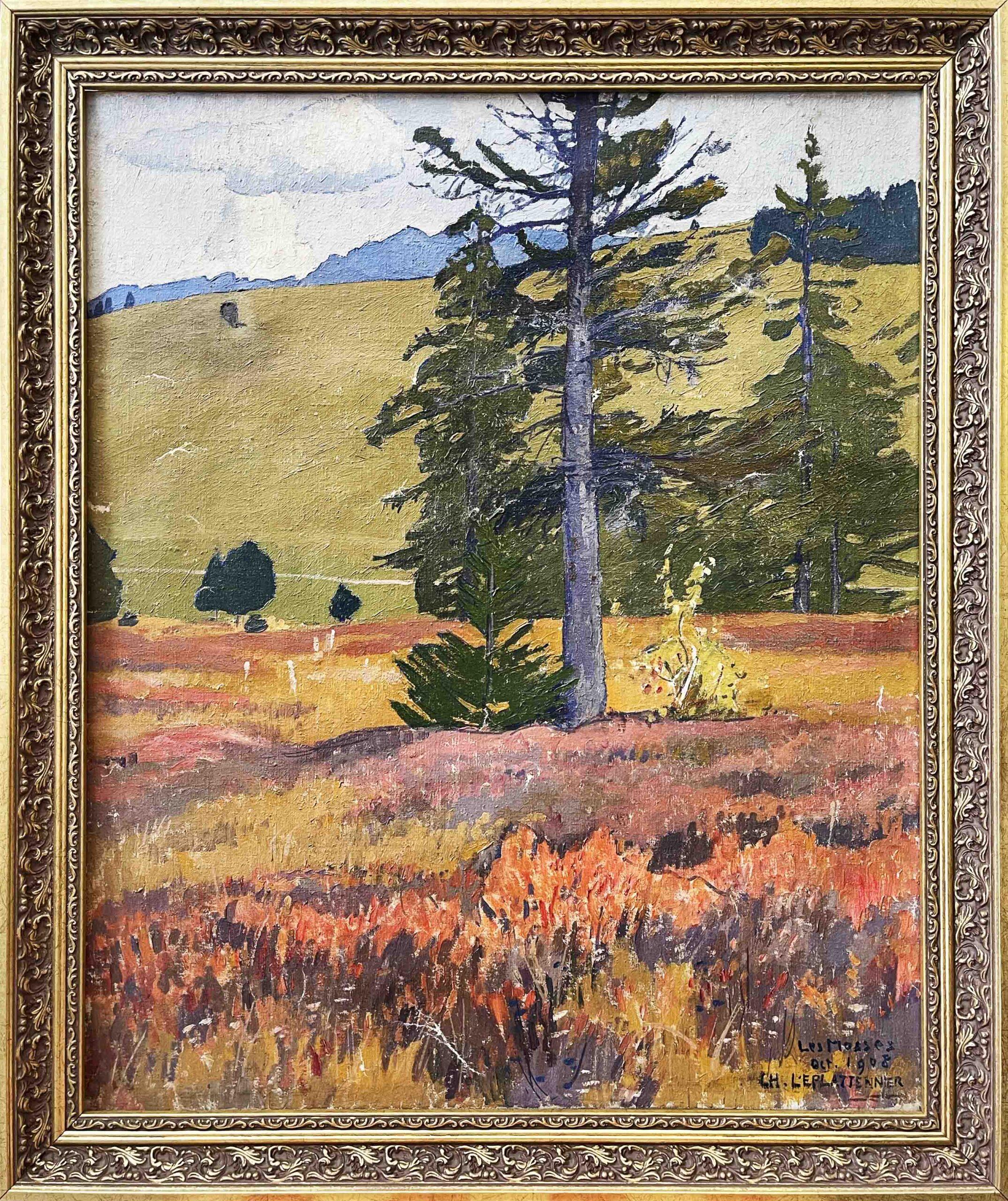 Charles L'Éplattenier (1874–1946) – Les Mosses, 1908