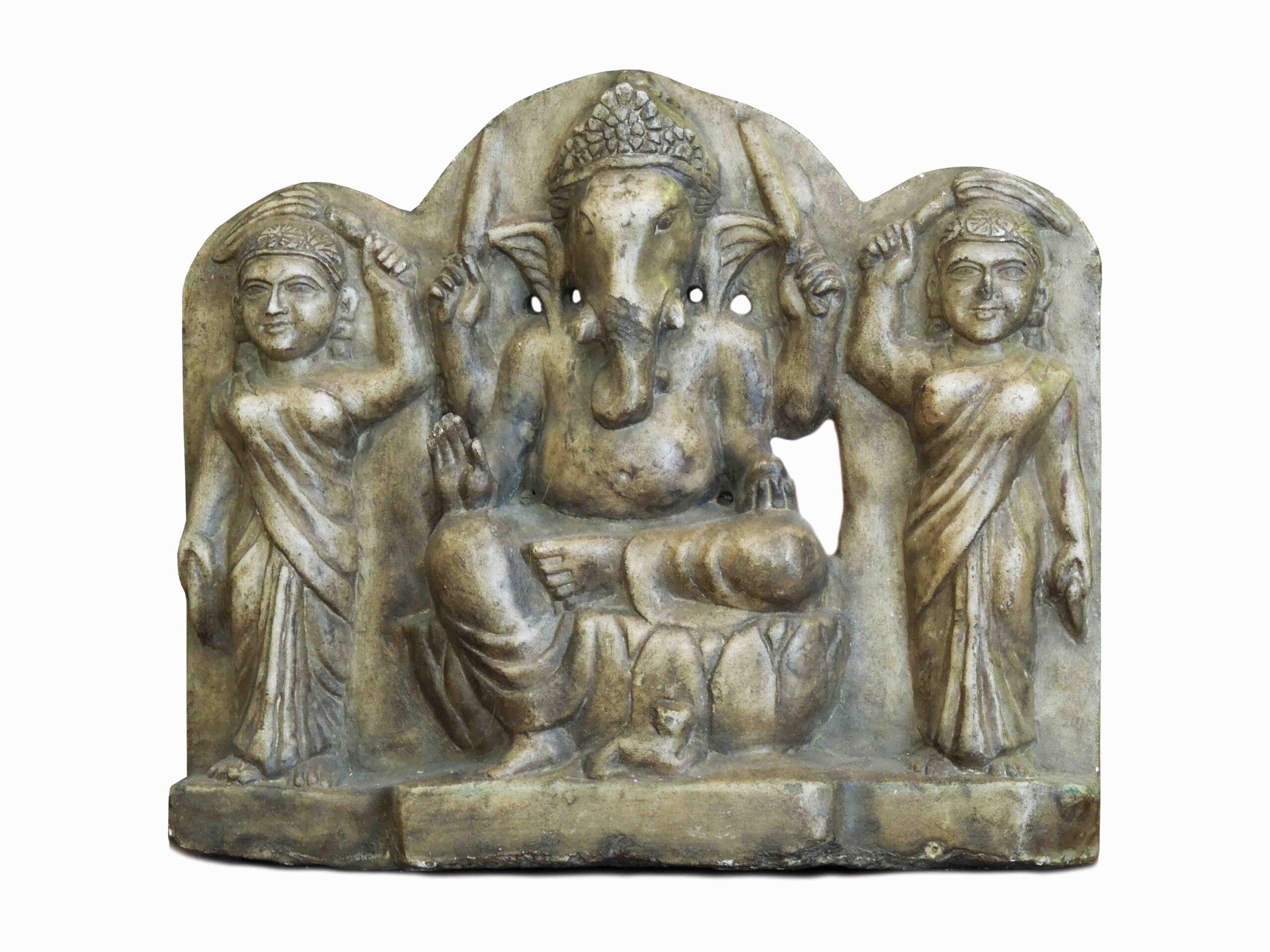 Kamenný relief, Indie, 13. stol.